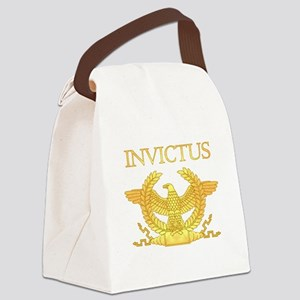 Invictus Eagle Canvas Lunch Bag